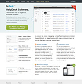 Full site creation for Re:Desk Software