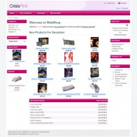 Crista Free osCommerce Template