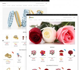 Multi-purpose Zen Cart theme. You can use it as jewelry, fashion, toys, flowers and so on stores